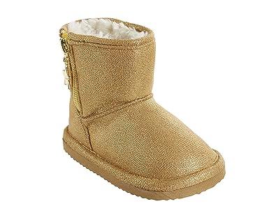 22de0d96f5075 Vertbaudet Bottes fourrées Fille  Amazon.fr  Chaussures et Sacs