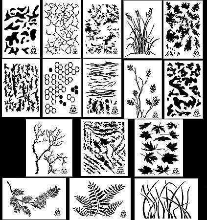 Acid Tactical 16 Designs 9x14 Camouflage Vinyl
