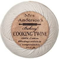 Mrs. Anderson's Baking Cooking Twine, Made in America, All-Natural Cotton, 200-Feet