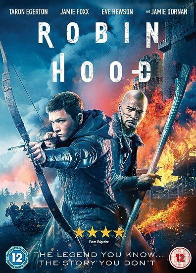Robin Hood Dvd 2018 Amazoncouk Taron Egerton Jamie Foxx