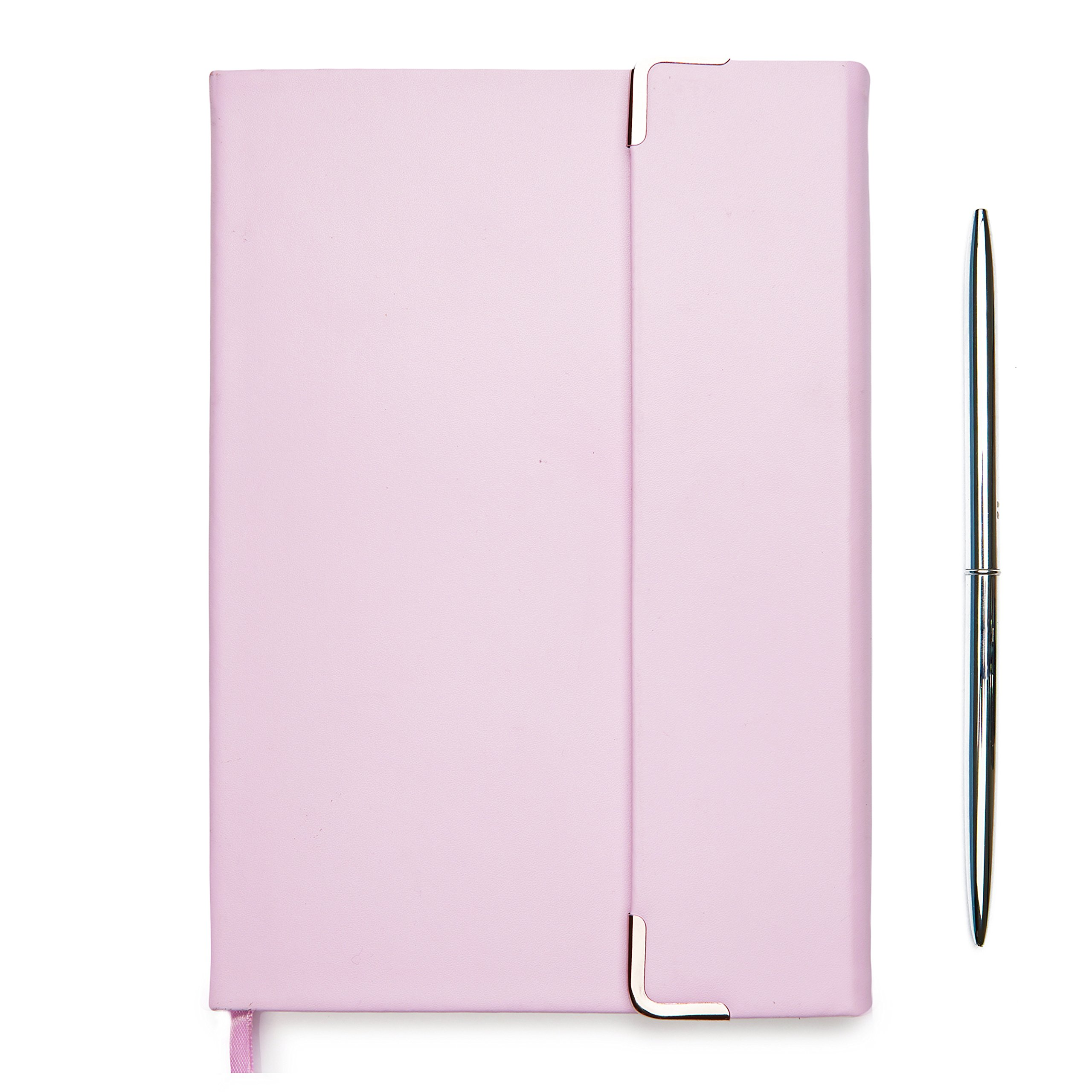 Minte inspirational journal   dotted journal to write in for women   pen and writing journal gift set   perfect for bullet journaling   A5(8,3x5,7 in) hardcover notebook, 250 pages, lavender