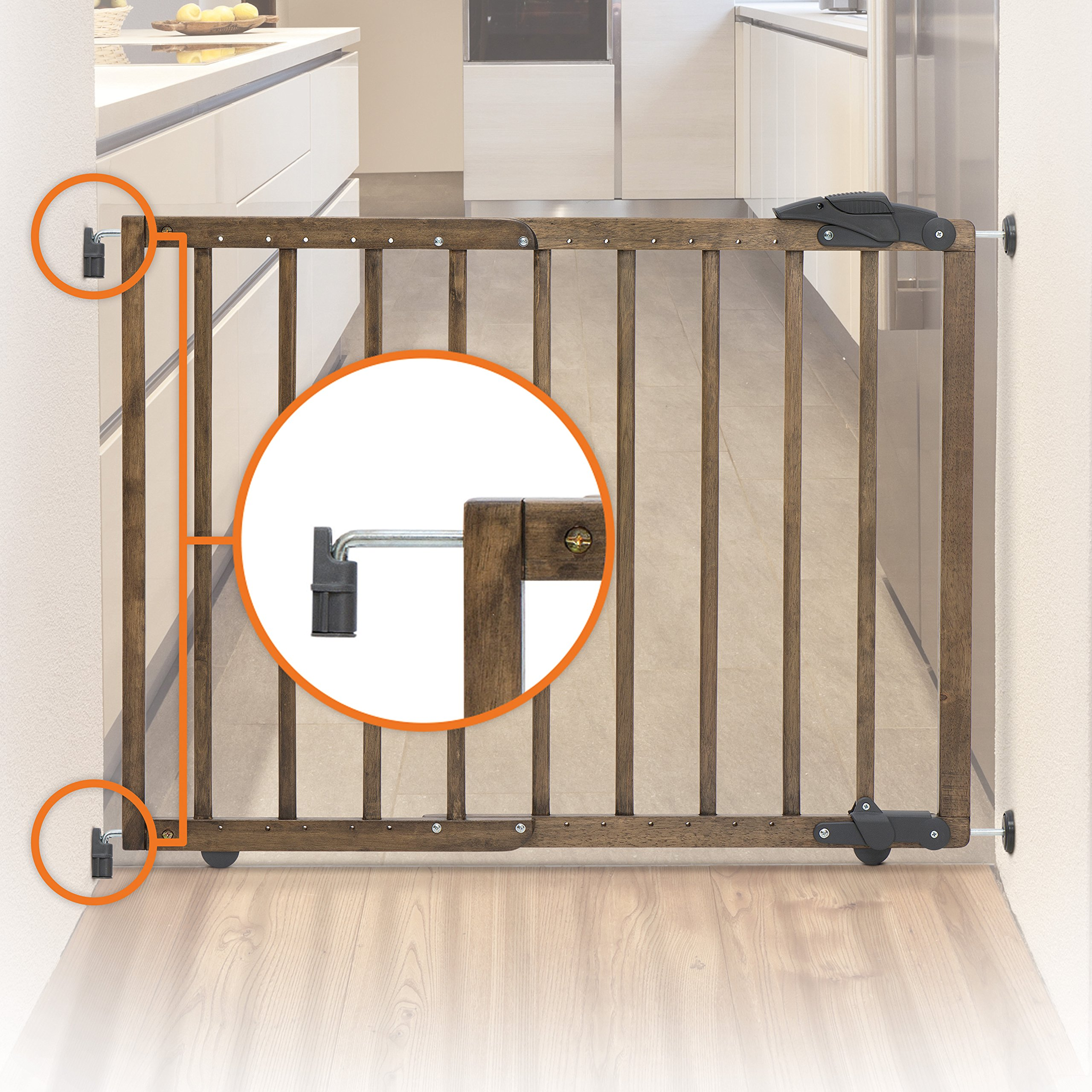 Dreambaby Nottingham 2 in 1 Gro-Gate by Dreambaby (Image #7)