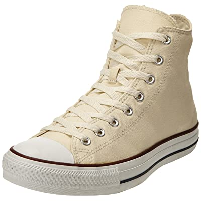 Converse Mens All Star Chuck Taylor Hi Ivory Sneakers 7.5 M US