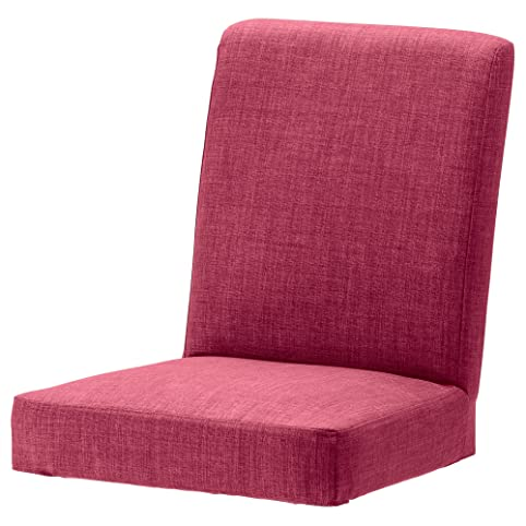 Pink Replacement Slip Cover For Ikea Henriksdal Dining Chairs In Linen  Effect Fabric By Changing Sofas