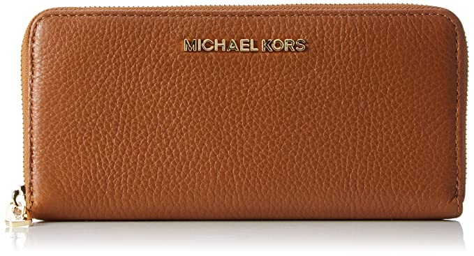 Michael Kors Bedford Leather Continental Wallet, Monedero ...