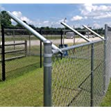 "Extend-A-Post - Extensions for Chain Link Fence - Set of 9 (1-3/8"")"