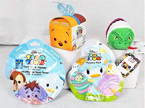 Tsum Tsum Mystery Packs Set