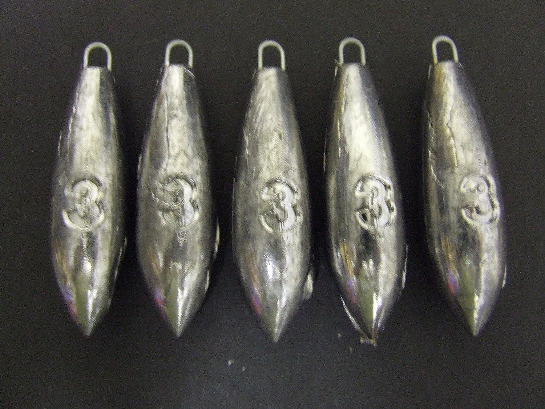 6 x 3oz SEA FISHING WEIGHTS