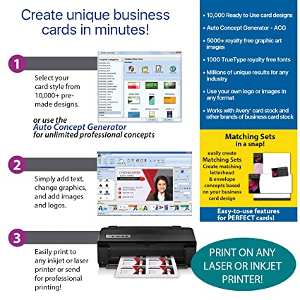 Amazon business card studio pro download software reheart Gallery