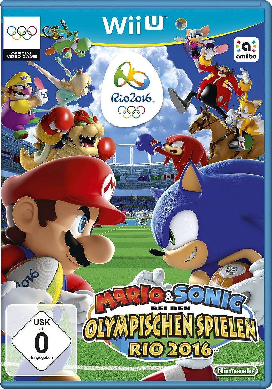 Amazoncom Mario Sonic In Rio Video Games - Minecraft wii u spielen