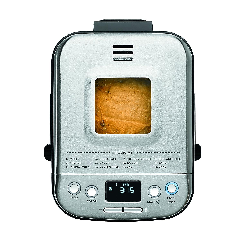 New Cuisinart CBK-110 Compact Automatic Bread Maker