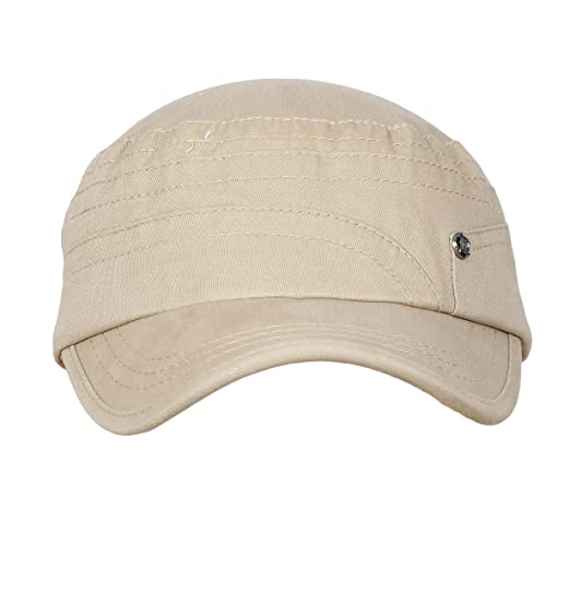 ec6edf487 Buy FabSeasons Cotton Short Peak Unisex Cap for Summers with Adjustable  Strap at The Back Online at Low Prices in India - Amazon.in