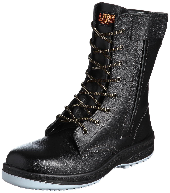 [ミドリ安全] 安全靴 中編上 HGS330F 静電 B002QCXYNK 26.5 cm|ブラック ブラック 26.5 cm