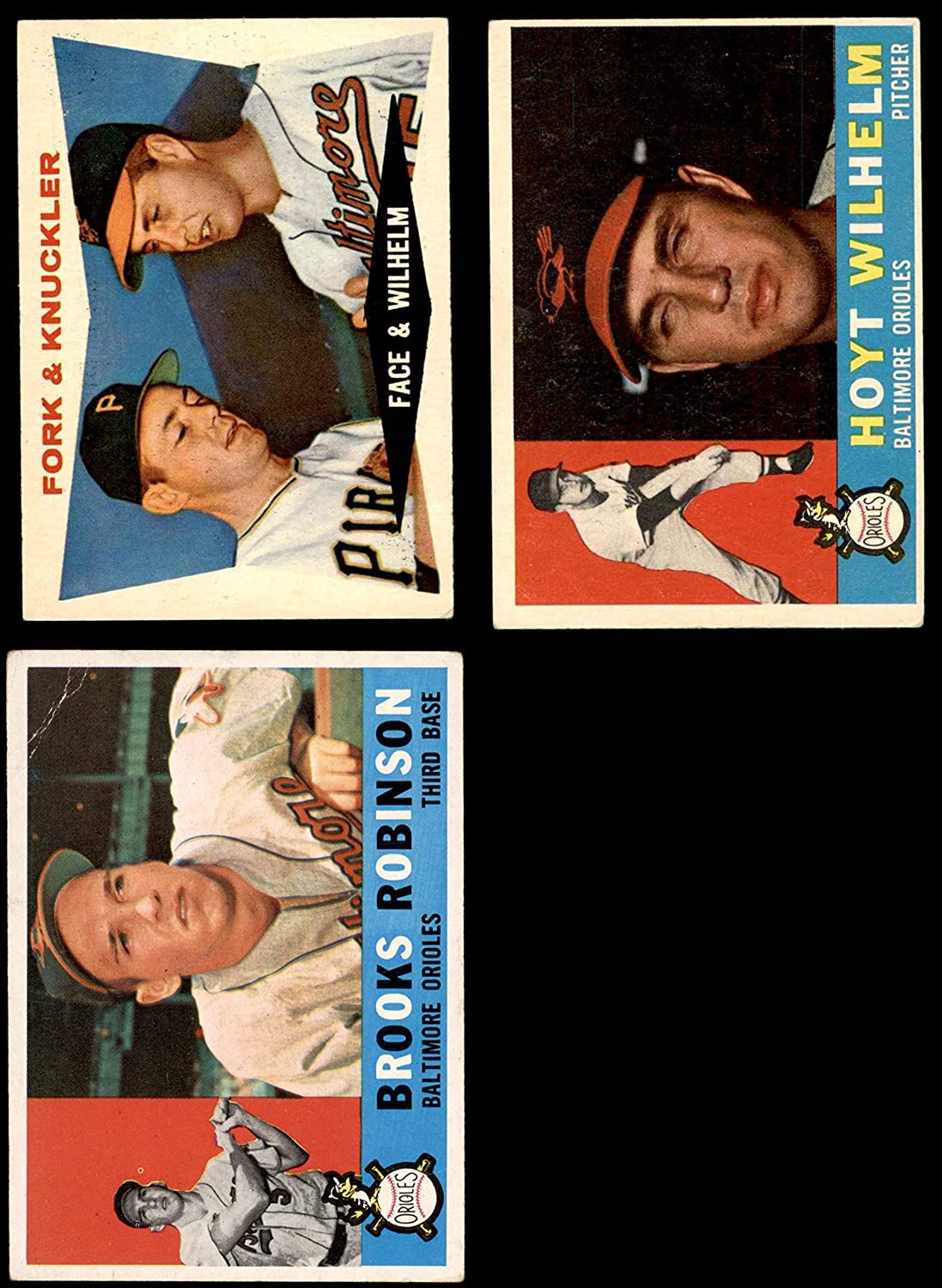 1960 Topps Baltimore Orioles Near Team Set Baltimore Orioles (Baseball Set) Dean's Cards 4 - VG/EX Orioles 91FRi-YykKLSL1500_