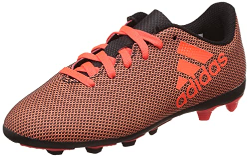brand new 642f9 37969 Adidas Boys X 17.4 FxG J CblackSolredSorang Sports Shoes - 12 Kids