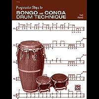 Progressive Steps to Bongo and Conga Drum Technique book cover