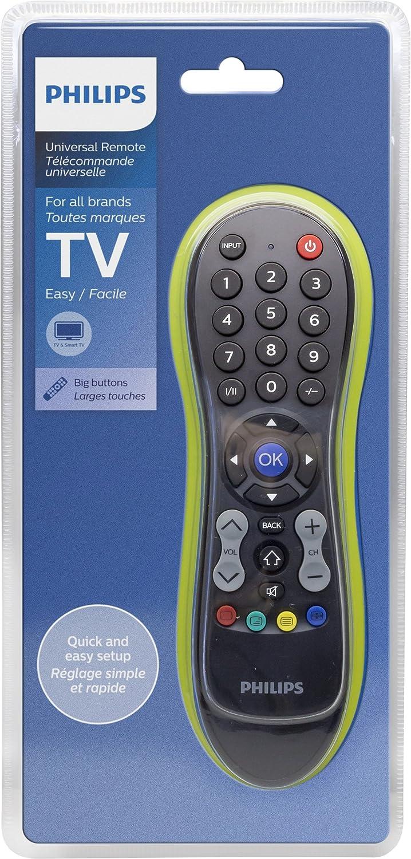 Philips SRP3011/10 - Mando a Distancia Universal para televisor, Color Negro: Amazon.es: Electrónica