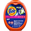 Tide Pods 3 in 1 Liquid Detergent Pacs, Coral Blast Scent, 81 Count Tub