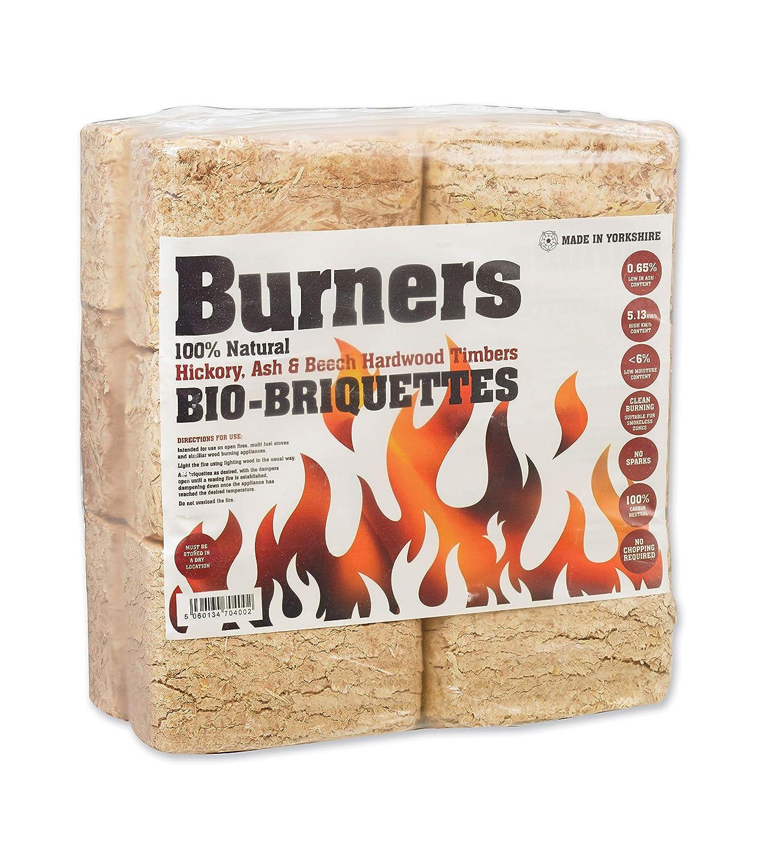 RUF Hardwood BRIQUETTES Wood Fuel Stove ECO BIO Fuel HEATLOGS FIREWOOD CHIMNEA (20 Packs of 12) PDL