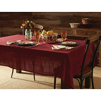 pioneer woman tablecloth. the pioneer woman fabric red tablecloth: harland 60 x 102 tablecloth