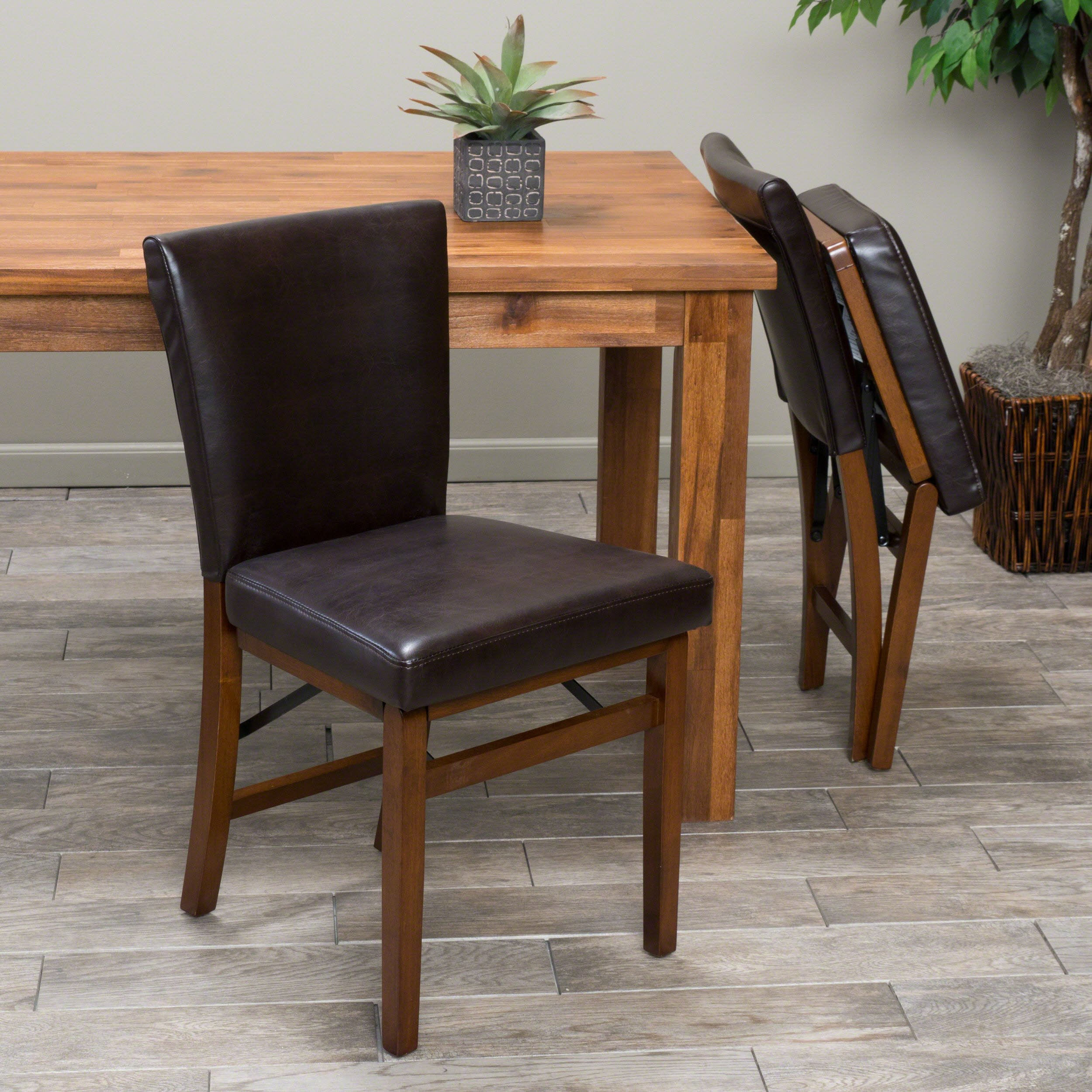 Christopher Knight Home Lane Folding Chair, Brown by Christopher Knight Home