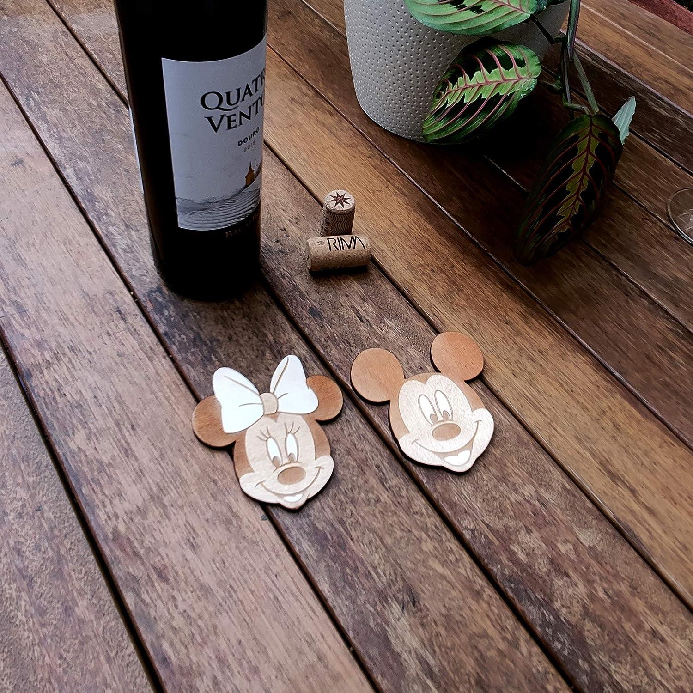 Disney Kollektion Holz Mickey Untersetzer
