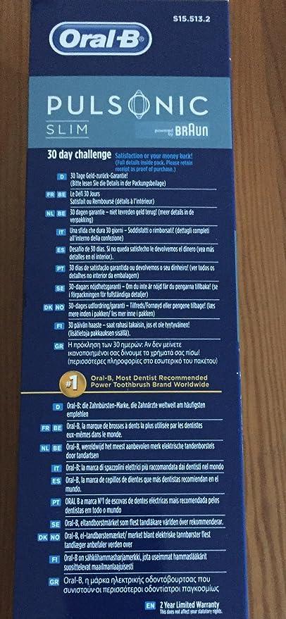 Amazon.com: ORAL-B, Oral-B Pulsonic Sonic Toothbrush (Catalog ...