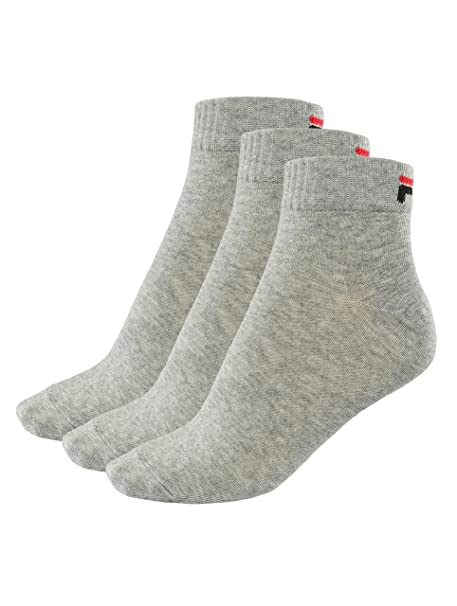Fila 3 pares de calcetines quarter sneaker socks Trainer unisex 35-46 - colores múltiples: Amazon.es: Ropa y accesorios