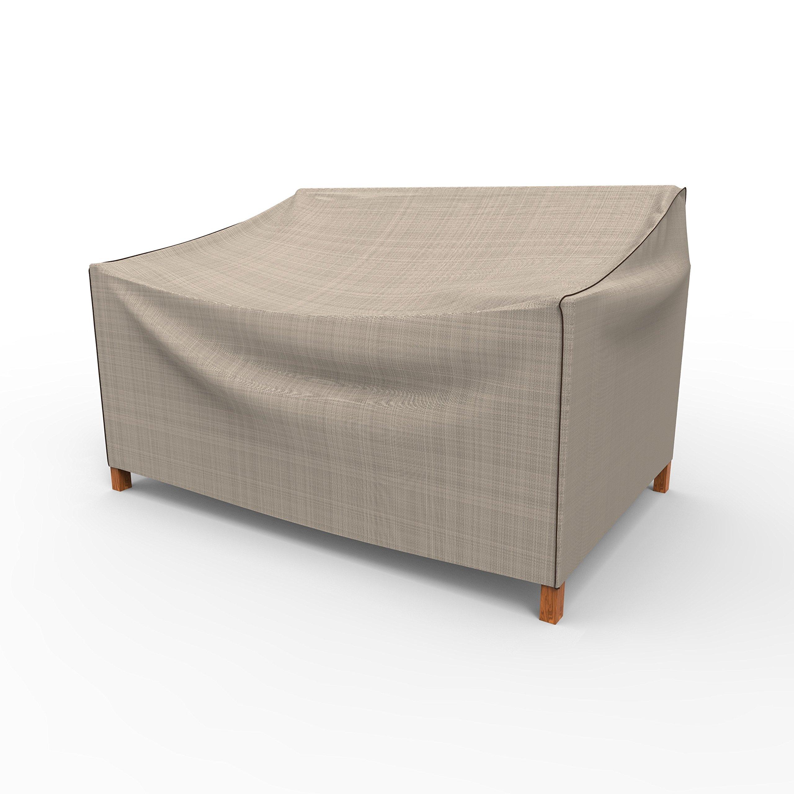 EmpirePatio P3A03PM1 Tan Tweed Glider Cover