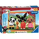 Ravensburger 6870 My First Floor Puzzle - Bing Bunny Jigsaw Puzzles - 16 Pieces