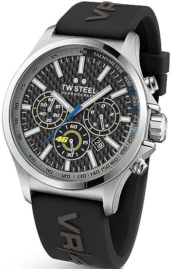 Reloj De Pulsera Unisex TW Steel - vr|46 50 mm de TW de 939: Amazon.es: Relojes