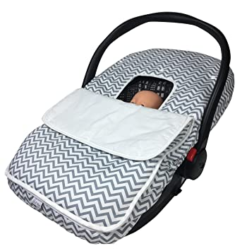 Baby Car Seat Coversu2013Soft Breathable Infant Carseat Canopy For Boys u0026 Girlsu2013Cozy  sc 1 st  Amazon.com & Amazon.com: Baby Car Seat Coversu2013Soft Breathable Infant Carseat ...
