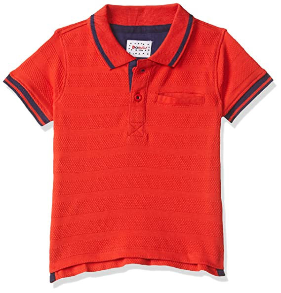 Baby Boys' Plain Regular Fit T-Shirt