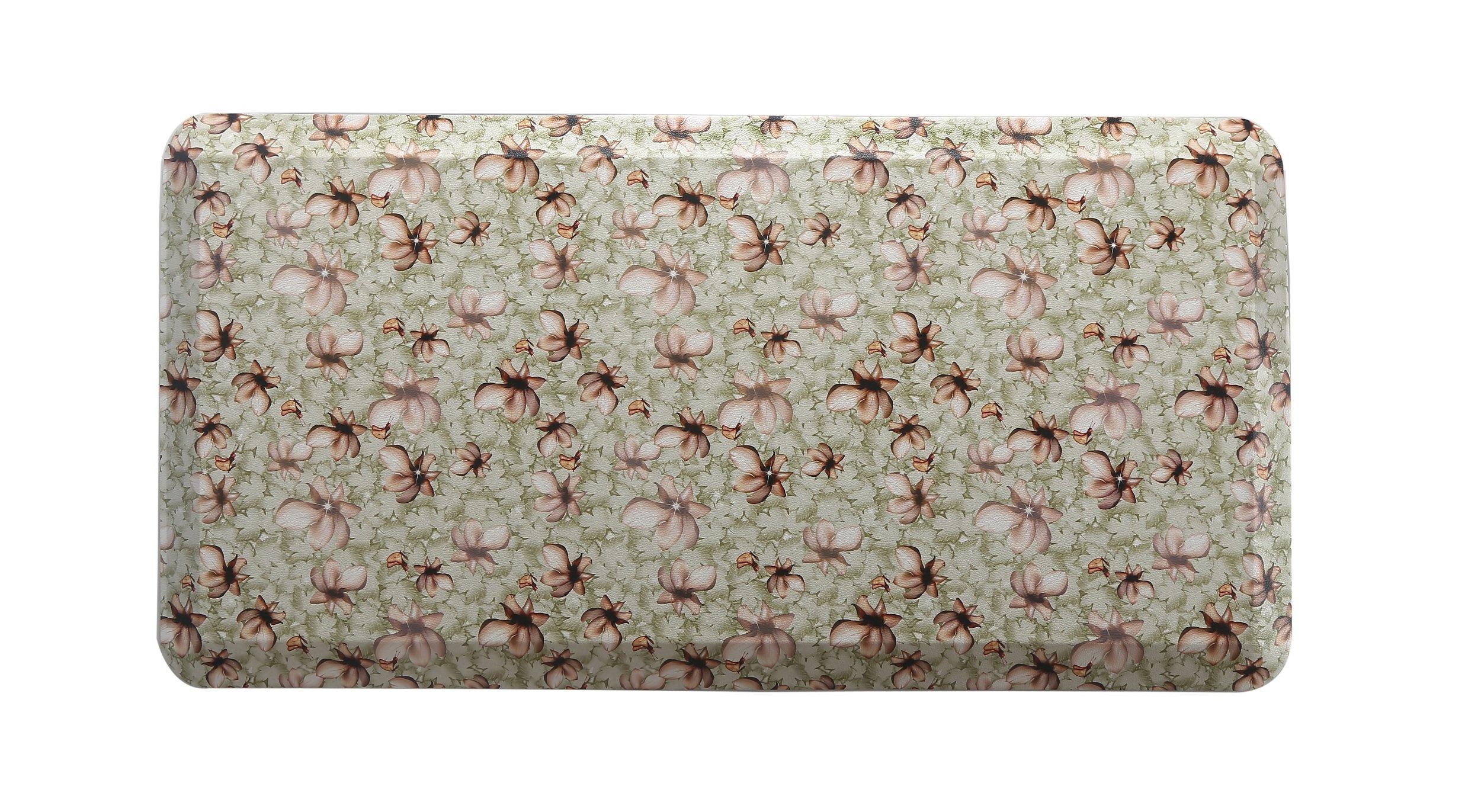 HEALEG Kitchen Anti Fatigue Mat,Comfort Floor Mats,Standing Desk Mats (Green, 20''x39''x3/4'')