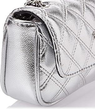 Guess Borsa cessily mini tracolla trapuntata MY767974 silver