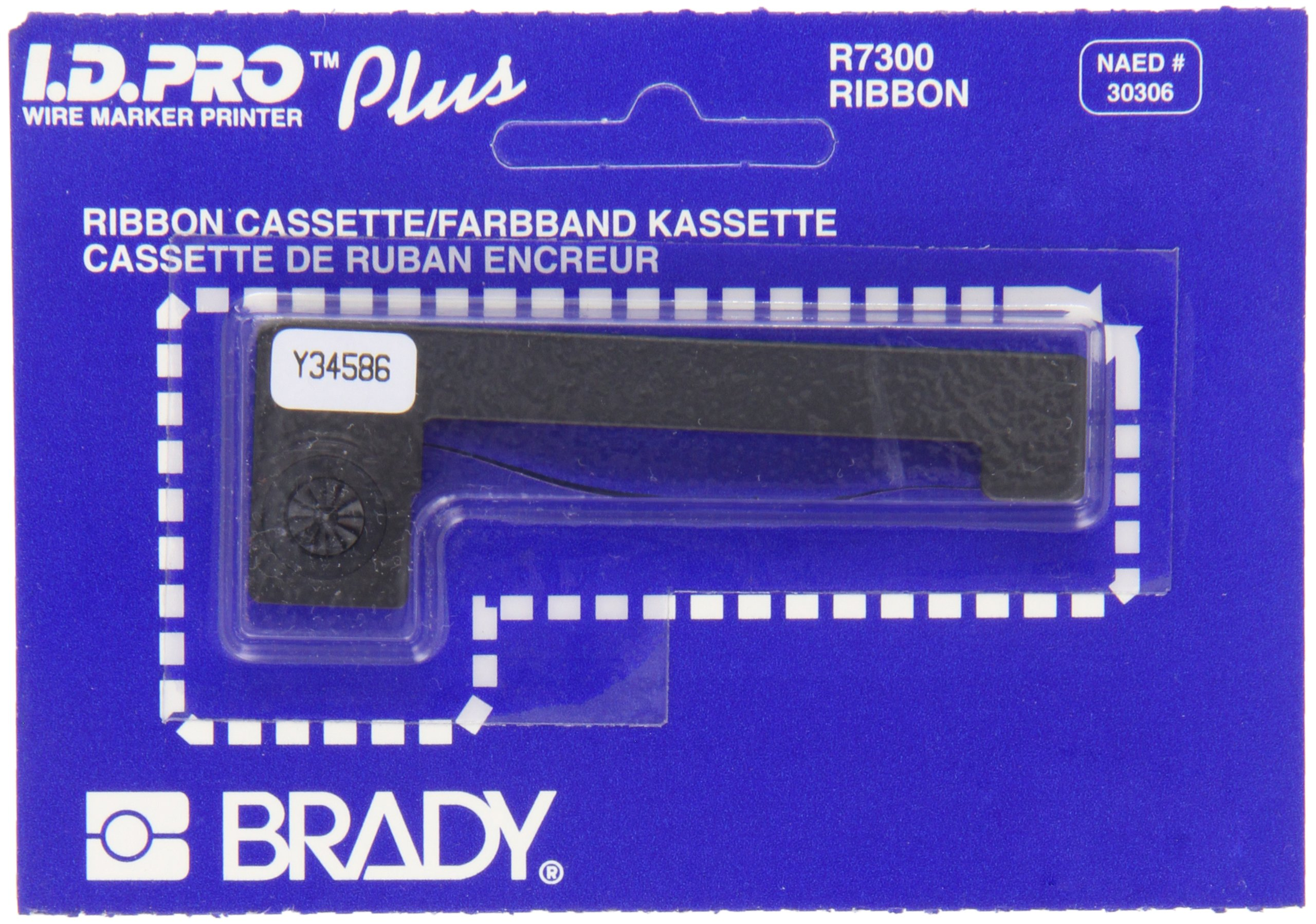 Brady R7300 7000 Series I.D.Pro Black Color, Plus Printer Ribbon by Brady