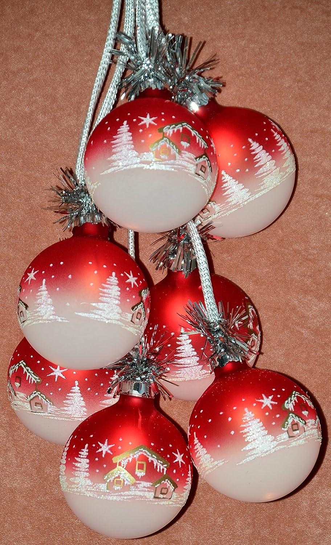 Beleuchtete Weihnachtskugeln.Beleuchtete Weihnachtskugeln Furs Fenster