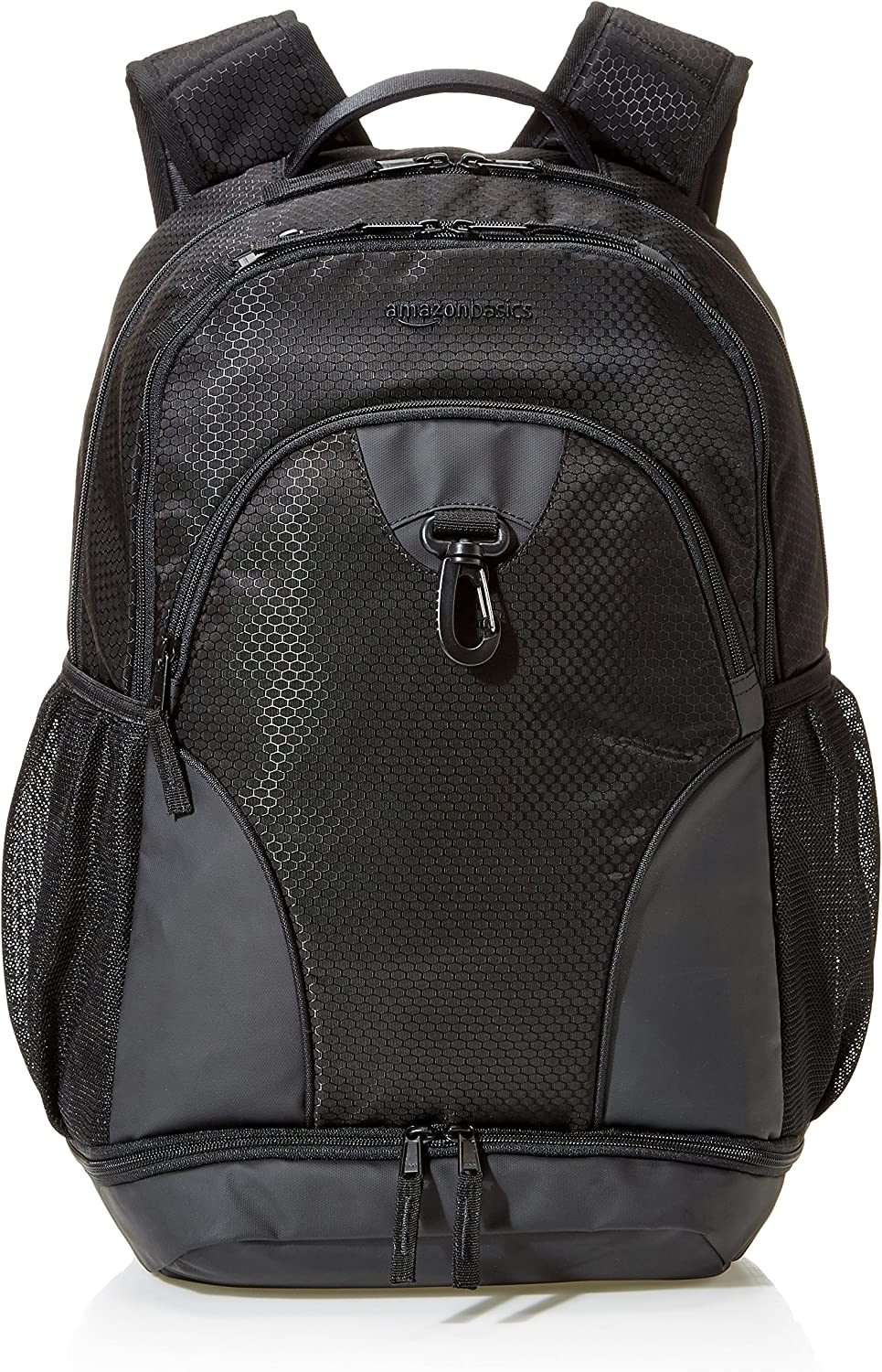 | Basics Sport Laptop Backpack - Black | Casual Daypacks