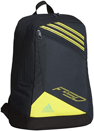adidas f50 backpack black and yellow