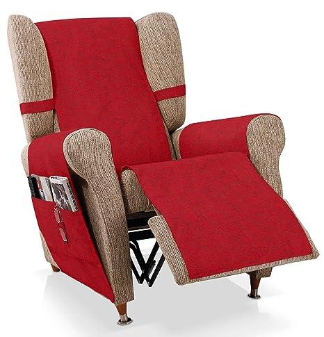 Bartali Cubre sillón Relax Pharma, Rojo, 1