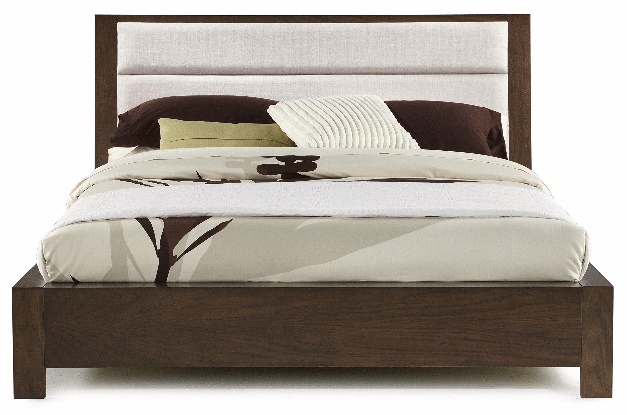 Casana Furniture Company 525-901KQ Hudson Upholstered Platform Bed, Queen