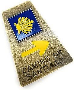 MovilCom® - iman Nevera| Figuras magneticas | imanes Nevera Personalizados de Camino de Santiago | diseño Exclusivo Recuerdo de España (Mod.002): Amazon.es: Hogar