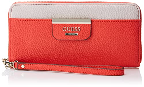 Guess - Slg Wallet, Carteras Mujer, Varios colores (Poppy Multi), 1x10x21