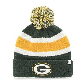8ac5b28f '47 Brand Breakaway Fashion Cuff Beanie Hat with POM POM - NFL Cuffed  Winter Knit Toque Cap