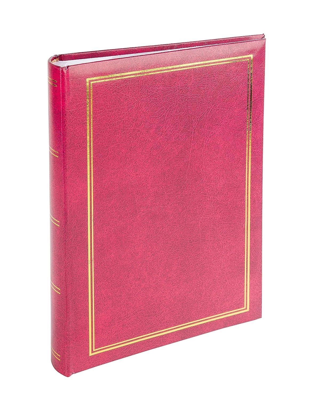 Victoria Collection –  album foto –  B 10 x 15/300 M Classic –  rosso (album spine, tasche laterali 300 foto in formato 10,2 x 15,2 cm/10 x 15 cm spazio per scr