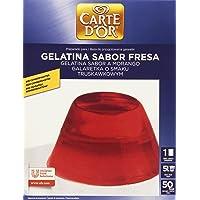Carte DOr - Gelatina Sabor Fresa - Sin conservantes - 850 g