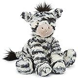 Jellycat Fuddlewuddle Zebra, Medium, 9 inches