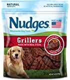 Nudges Grillers Dog Treats, Steak, 18 Ounce