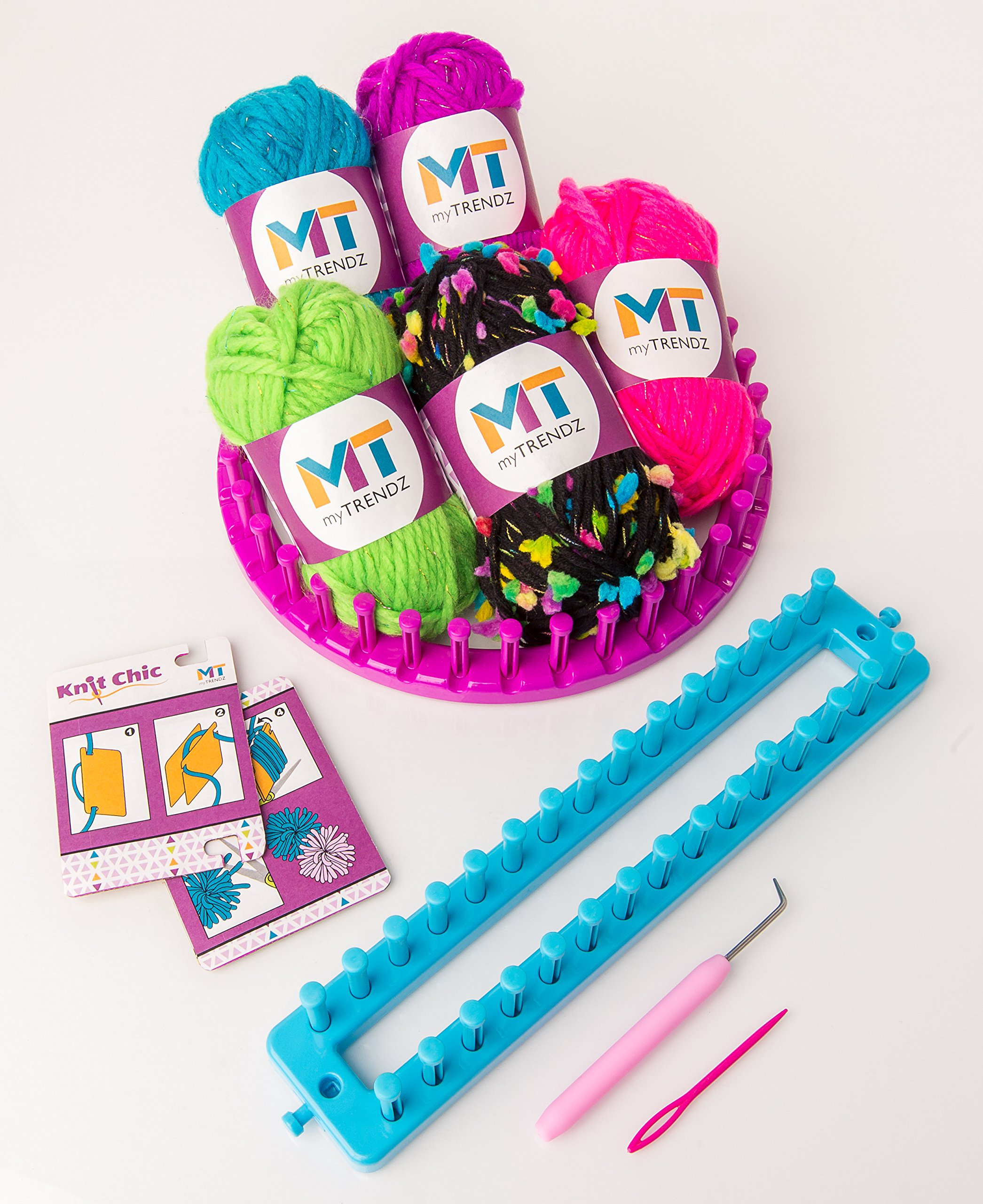 My Trendz Knit Chic Starter Children's Knitting Kit - Create Your Own Fashion Trends!