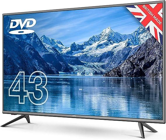 """Cello C43227FT2 43"""" Full HD TV LED con una función de Reproductor de DVD y TDT HD T2: Amazon.es: Electrónica"""